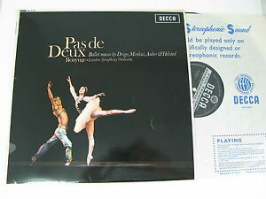 DECCA-WBg-SXL-6137-PAS-DE-DEUX-BALLET-MUSIC-BY-DRIGO-MINKUS-AUBER-BONYNGE-LSO