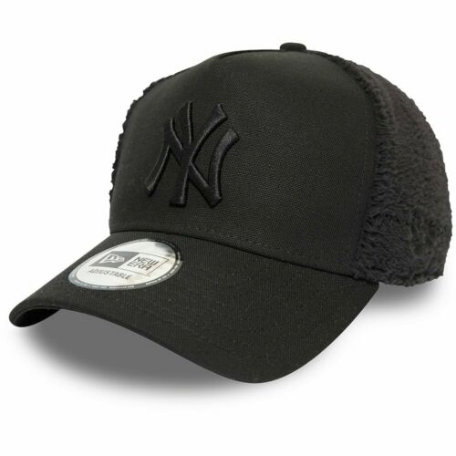 New Era Adjustable Trucker Cap SHERPA New York Yankees