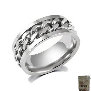 B Romantisch Original Enez Ring Trauring Ehering Edelstahlring Silber Gr 7 17,3mm 8mm