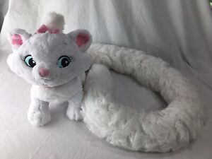 """New Disney Parks Aristocats Marie Scarf Boa 48/""""Long Tail 12/"""" Plush Toy"""