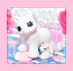 My-Little-Pony-MLP-Vtg-G1-Style-HQG1C-Blank-White-TEENY-WEENY-Tiny-Baby
