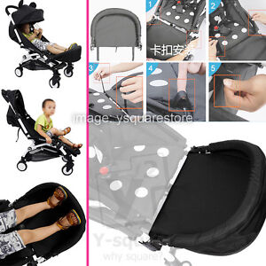 Yoya/yoyo Stroller Accessories Baby Stroller Footboard Baby Foot Extension Footmuff Stroller Footrest Bumper Bar With Feet Rest Easy To Repair Mother & Kids