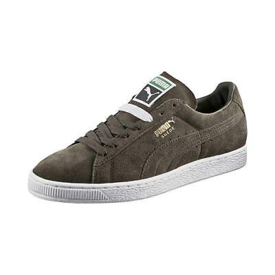 low priced 0b1ee 6dc2d PUMA SUEDE CLASSIC + LOW SNEAKERS MEN SHOES FOREST NIGHT 356568-65 SIZE 9.5  NEW | eBay