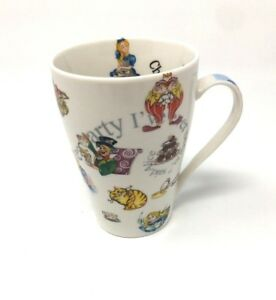 New Paul Cardew Latte Coffee Tea Cup Mug Alice In Wonderland Design