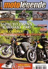 MOTO LEGENDE 211 APRILIA 6.5 Starck HONDA CB 350 VX 1000 JAPAUTO KAWASAKI Z1 900