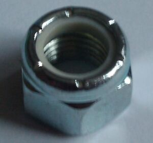 "3/8"" UNF Nylon Steel Nuts 10 Pack Nut"