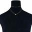 Women-Jewelry-GF-Pendant-925-Silver-Gold-Heart-Choker-Chunky-Chain-Bib-Necklace thumbnail 5