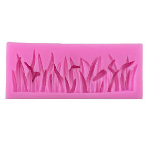 3D-Grass-Shaped-Silicone-Fondant-Mold-Cake-Chocolate-Sugarcraft-Cutter-Mould-uW