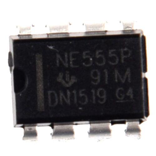 50PCS NE555P NE555 DIP-8 SINGLE BIPOLAR TIMERS IC K6H3