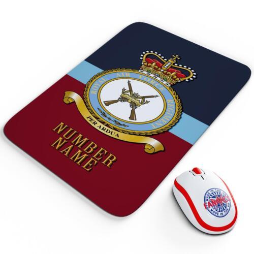 Personalised Royal Air Force Regiment RAF Mouse Mat Pad Computer Gaming RA16