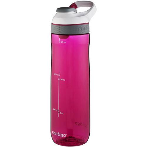 Sangria//Bone Lid Cortland Autoseal Water Bottle Contigo 24 oz