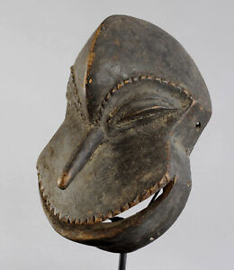 Masque-Africain-Chimpanze-zoomorphe-HEMBA-mask-African-tribal-art-Chimpanzee