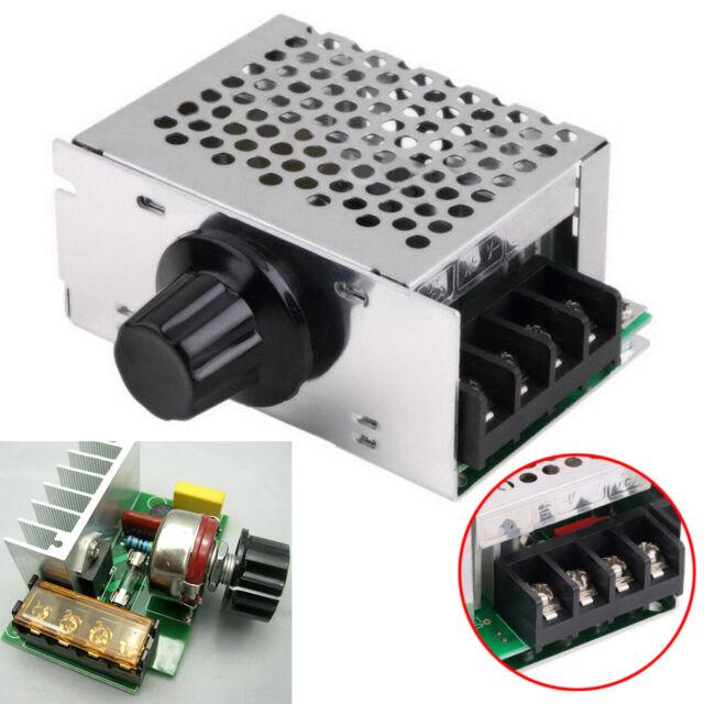 Electric Regulator 220VAC 10000W High Power SCR Speed Controller Motor Control