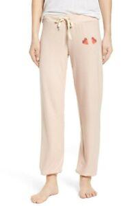New! All Things Fabulous Lollipip Cozy Lounge Sweatpants Blush Pink Size Small