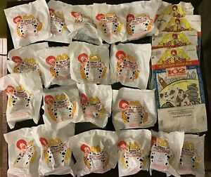 2000-McDonalds-Happy-Meal-Disney-039-s-102-Dalmatians-Lot-of-19-Blind-Bag-Toys-MIP