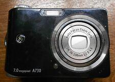 PARTS REPAIR AS IS BROKEN GE Smart Series A730 7.0 MP Digital Camera Black 7MP