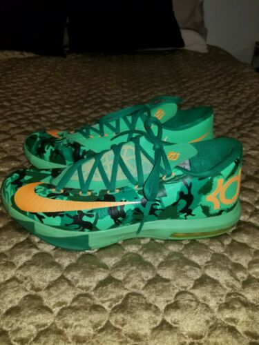 KD 6 Durant Easter Size 10 Basketball Mens Shoes i