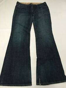 Womens GOLD SIGN Dark Wash Bootcut Desire Jeans Sz 32 USA MADE