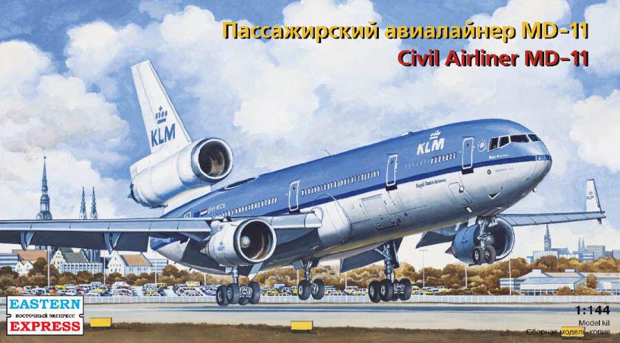 Eastern Express 1 144 McDonnell Douglas MD-11 KLM Civil Airliner