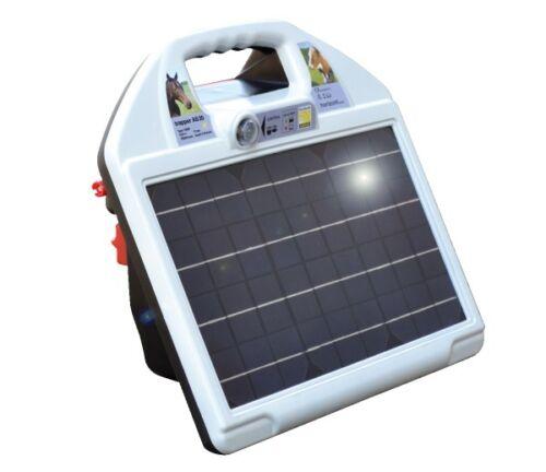AS70 Solargerät mit 12V AKKU AS35 HORIZONT Weidezaungerät trapper AS20