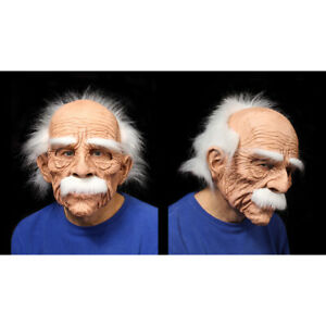 Deluxe-Grand-Dad-Old-Man-Funny-Adult-Halloween-Full-Head-Latex-Mask