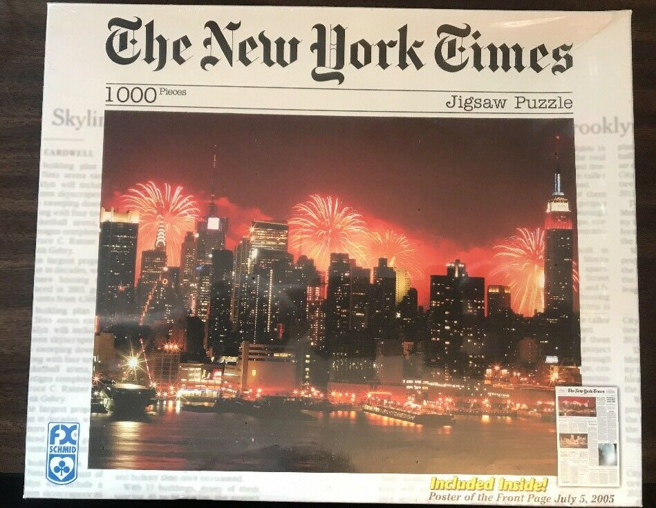 The New York Times Celebrating the Nation's Nation's Nation's Birthday 1000 Piece Jigsaw Puzzle dd8462