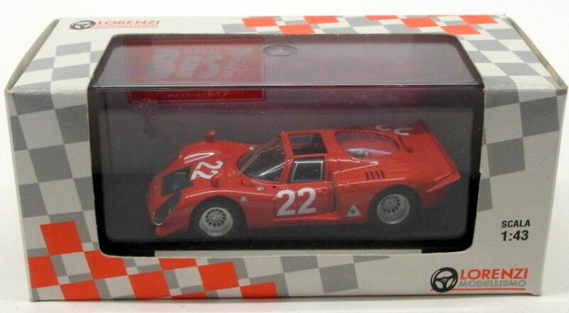 Best 1 43 Scale LO0220 - Alfa Romeo 33.2 Spyder Mugello 1988 - Giunti Galli