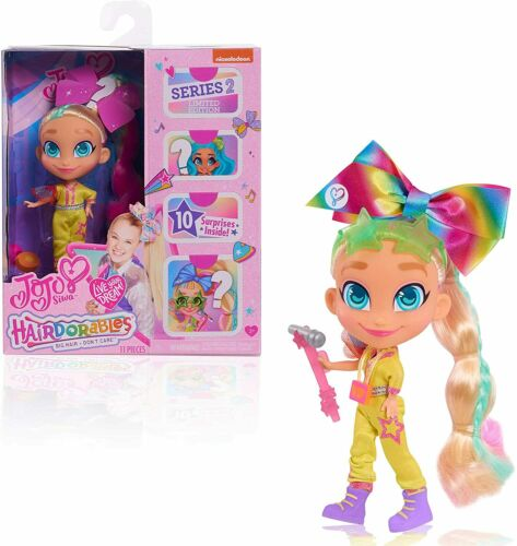 JoJo Siwa JoJo Loves Hairdorables Limited Edition Collectible Doll Brand New Toy