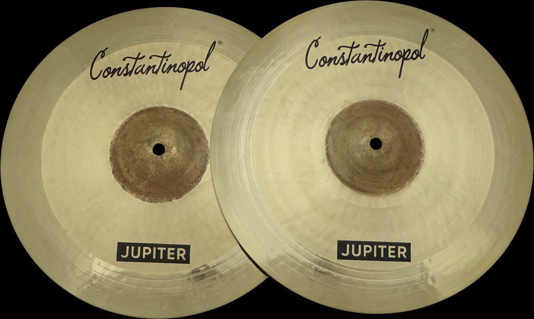 Constantinopol JUPITER HI-HAT 14  - B20 Bronze - Handmade Turkish Cymbals