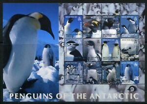 Brit-Antarktis-Gebiete-ZD-Bogen-MiNr-369-80-postfrisch-MNH-Pinguine-P848