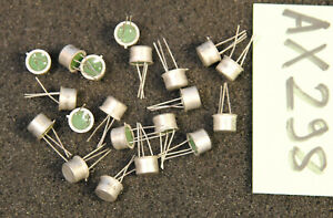 Lot de 20 x transistor 2N1986 Thomson ( AX298 )