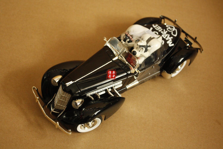 1 18 1935 AUBURN 851 Speedster Warner Bredhers WB Commemorative Edition