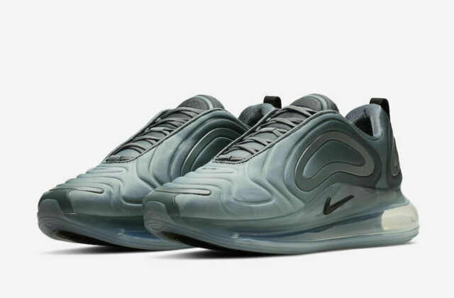 MENS NIKE Air Max 720 Trainers Wolf GreyBlack AO2924 002 size 11.5