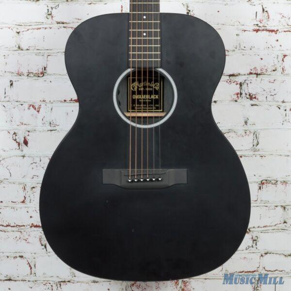 martin x series omxae acoustic electric guitar black ebay. Black Bedroom Furniture Sets. Home Design Ideas