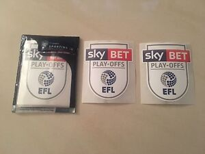 Bradford City  Sky Bet EFL League One PlayOff Final 1617 Shirt Sleeve Patches - London, United Kingdom - Bradford City  Sky Bet EFL League One PlayOff Final 1617 Shirt Sleeve Patches - London, United Kingdom