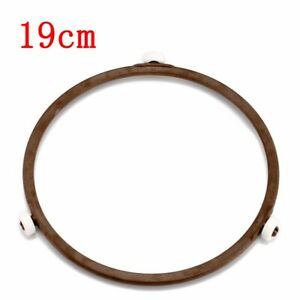 Universal Glass Microwave Oven Bracket Plate Turntable Circle Fixing Ring Roller