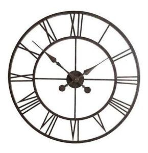 Weathereye-Metal-Frame-30-034-Outdoor-Garden-Clock-WEA07