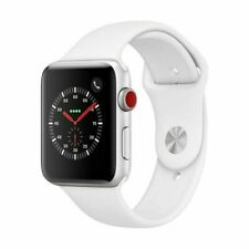 Apple Watch Series 4 44mm GPS Cellular LTE White Band Silver