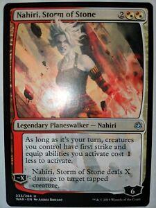 1x Nm Nahiri Storm Of Stone War Of The Spark Mtg Magic The Gathering Ebay