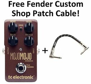 New-TC-Electronic-MojoMojo-Overdrive-Guitar-Effects-Pedal-Mojo