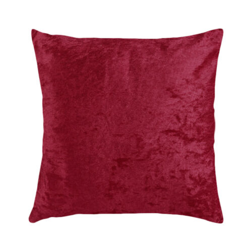 "18/"" Velvet Cushion Cover Square Pillow Case Sofa Throw Pillow Cover Home Office"