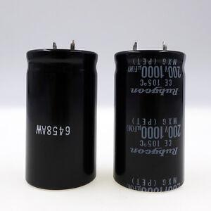 1000uF 200V  Electrolytic Capacitor 105C