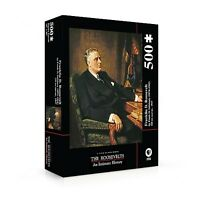 Ken Burns: The Roosevelts Fdr Puzzle Set 500 Pieces Pbs