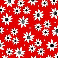 Henry Glass Steppin' Out by Dana Brooks 9756 88 Red Flower BTY Cotton Fabric
