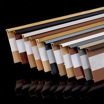 TEPPICHLEISTEN Weiss 2,5m Kettelleisten für Teppich Leiste Sockelleisten GR5