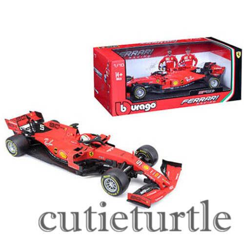 Bburago 2019 Ferrari SF90 F1 Racing Car 1 18  5 Sebastian Vettel 18-16807 SV