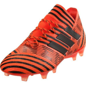 cb930638a adidas Men s Nemeziz 17.1 FG Solar Orange Core Black BB6079