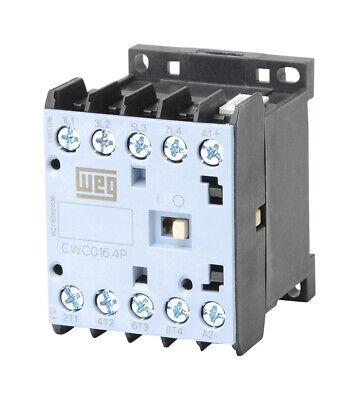 2-Pole 25 Amps 220-240VAC Coil WEG Electric CWM25-00-20V24 IEC Contactor