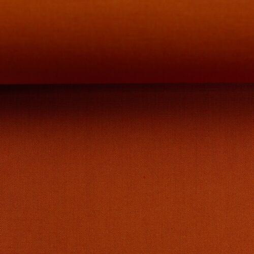 7.20€// 1m uni Heide Terrakotta Baumwollstoff