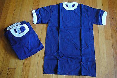 1980's Imp Stampa Sportswear T- Camicie,lotto Di 6 Uomo,taglia M,made In Materiali Di Alta Qualità Al 100%